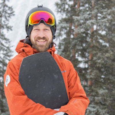 Brennan Metzler - Snowboard Chair & IFSA Coach for Method 4 Life Snowboard Academy
